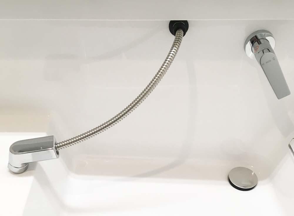 オクターブのシンプル水栓