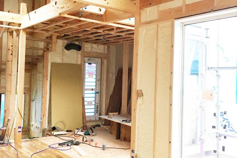 建設中の注文住宅の仕様変更