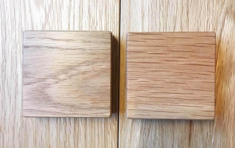 シムススタイルの木材サンプル