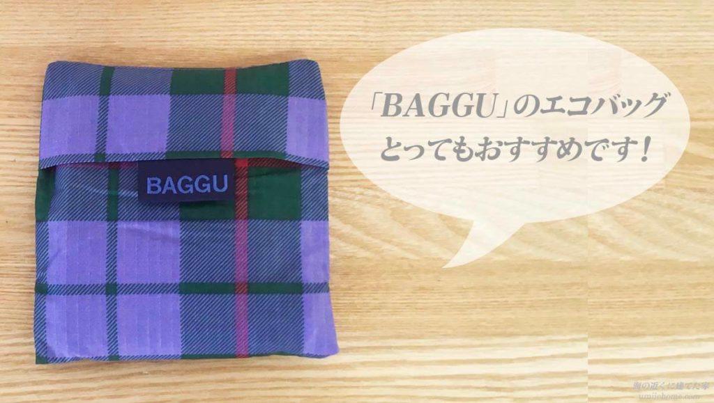 BAGGUエコバッグおすすめ