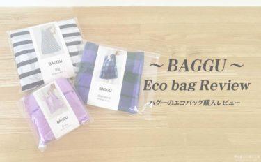 「BAGGU(バグー)」エコバッグの購入レビュー【使い心地からサイズ比較まで】